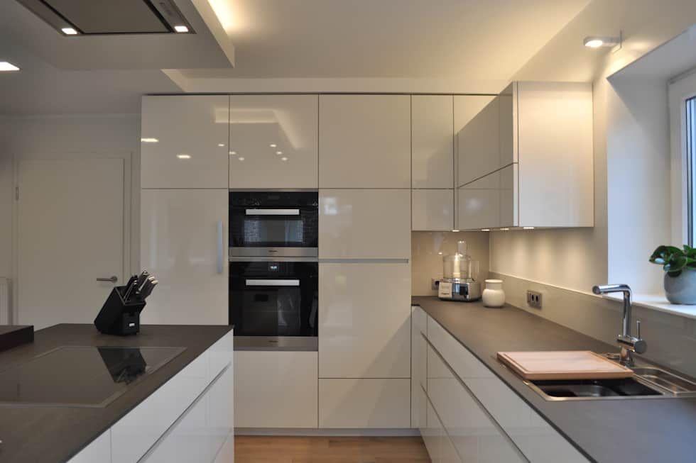 k che nach ma im m nsterland moderne k che von klocke m belwerkst tte gmbh eigenheim. Black Bedroom Furniture Sets. Home Design Ideas
