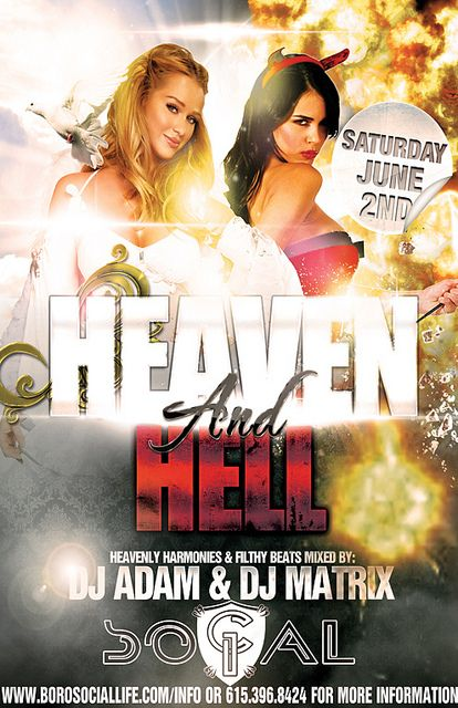Heaven & Hell Party June 2nd