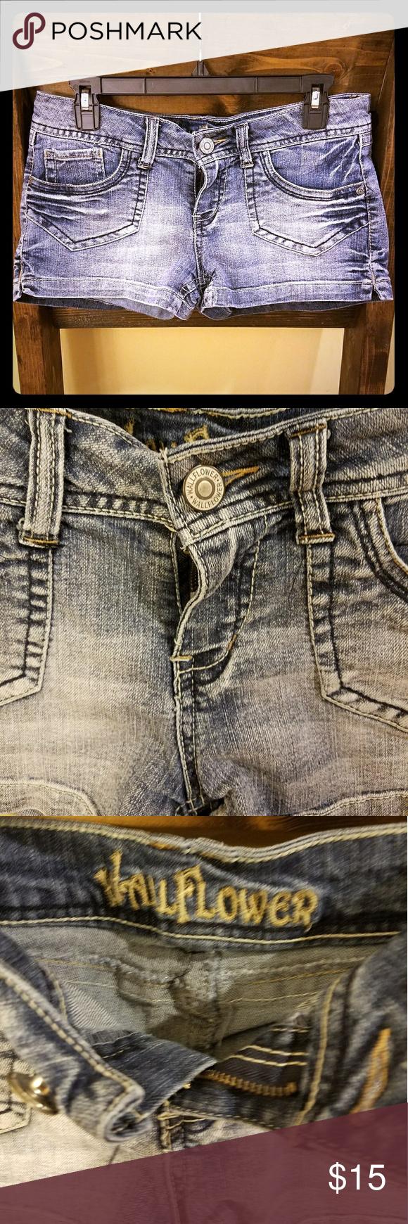 Wallflower denim shorts Juniors size 11 wallflower denim shorts. Wallflower Shorts Jean Shorts