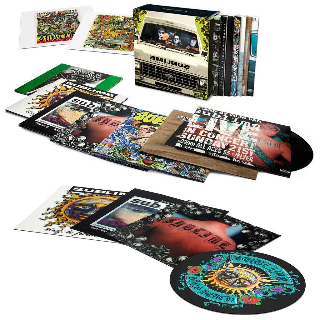 Sublime Limited Edition Vinyl Box Set Boxset Vinyl Lp Vinyl