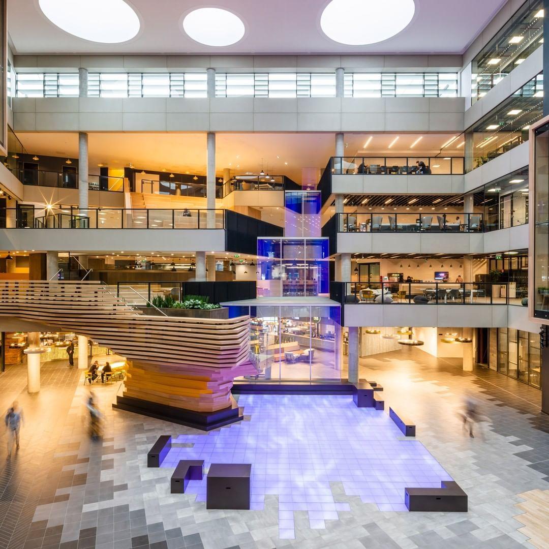Microsoft Ireland's new campus in Dublin is designed