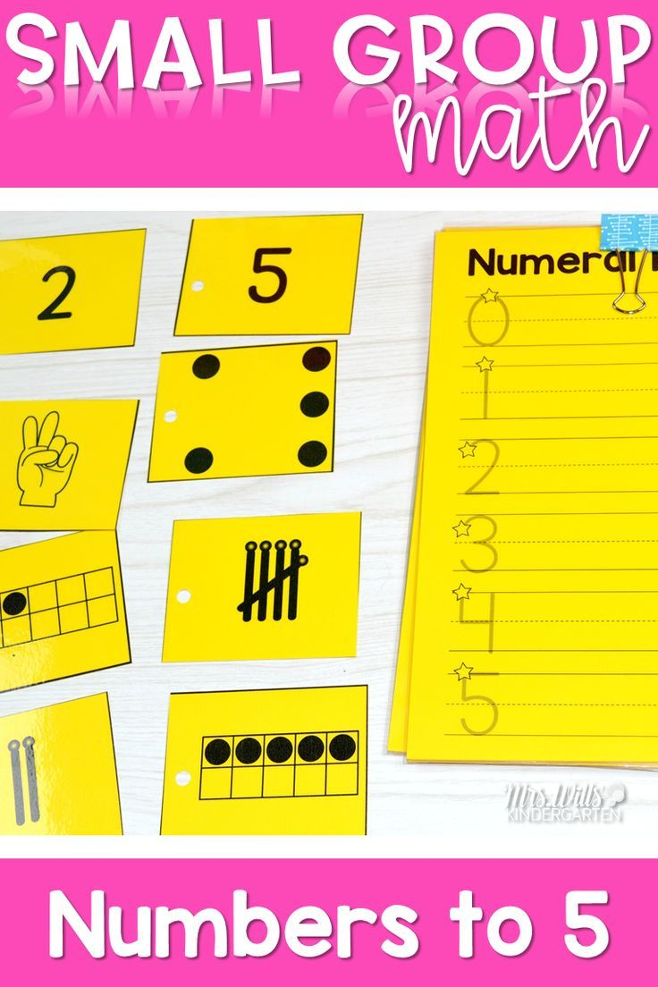 Kindergarten Small Group Guided Math | Zahlen und Kind