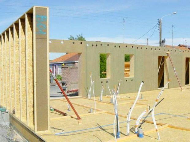 maison ossature bois auto-construction20 Tiny House Stuff