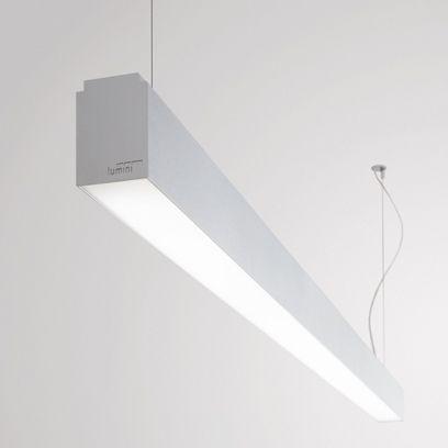 Lumin ria l nea embutir ou sobrepor lumini sistema - Luminaria fluorescente estanca ...