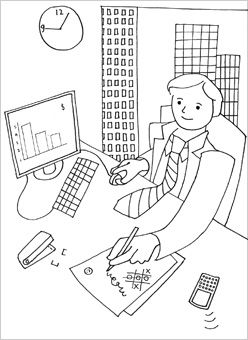 People Coloring Pages Mr Printables Alphabet Coloring Pages
