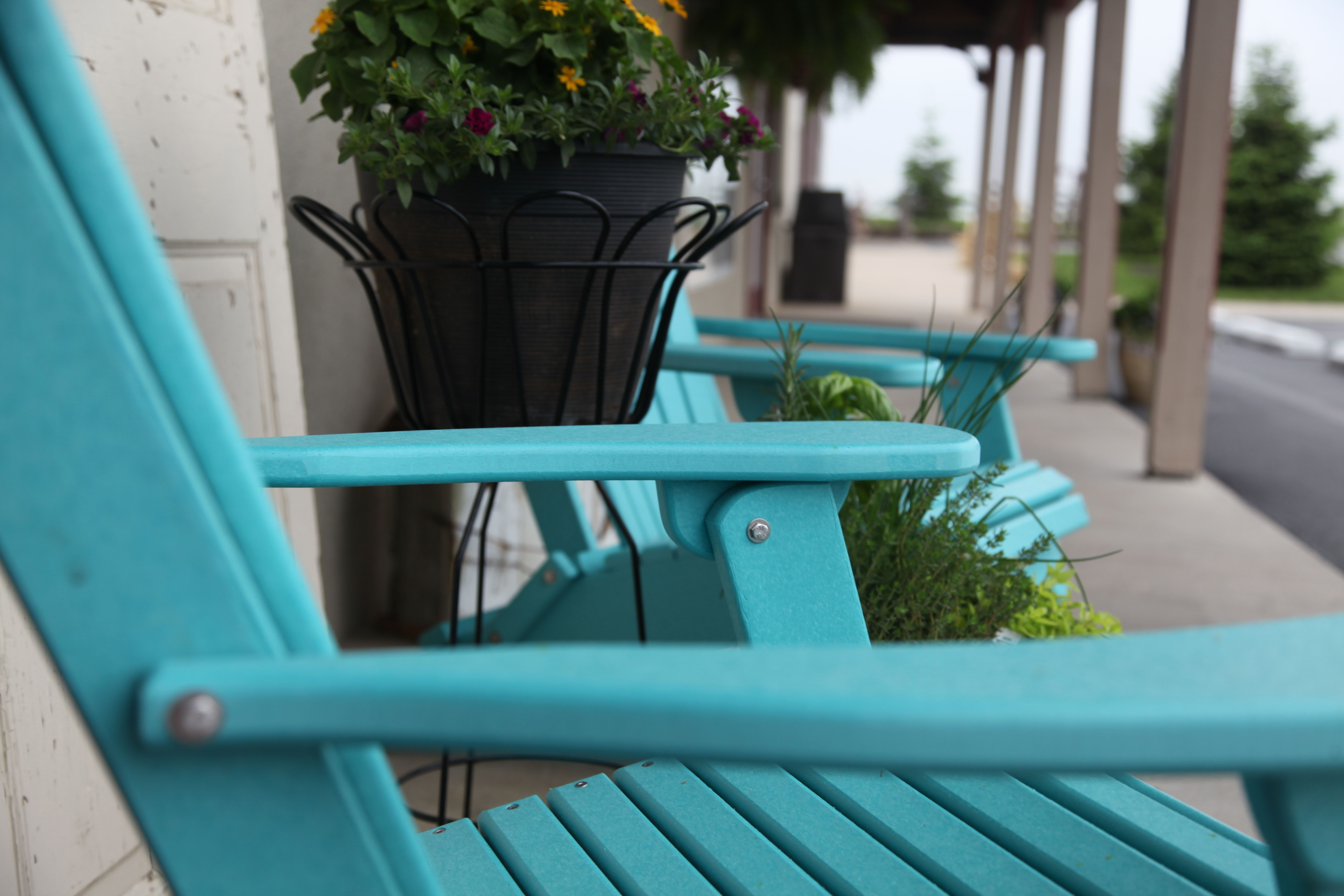 Beautiful Relax In Style || Peaceful Valley Furniture Poly Chairs #outdoor #furniture  #handcrafted