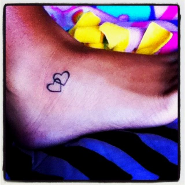 Interlocking Hearts 3 Tattoos Pinterest Tattoos Little Heart