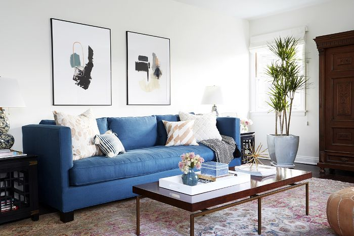 inspiring warm color living room paint ideas | 7 Interior Designers Share the Warm White Paint Colors ...