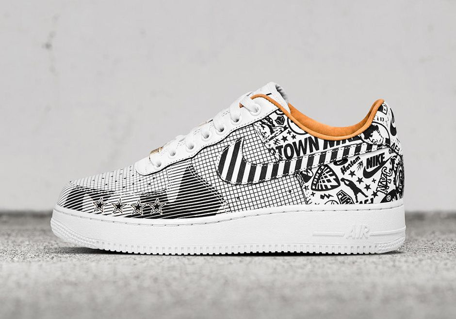 Nike Air Force 1 NYC Laser Colorways Release Date | SneakerNews.com