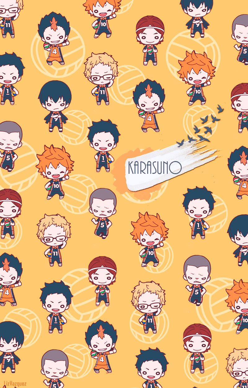 Karasuno Wallpaper By Liz Vazquez 画像あり ハイキュー壁紙