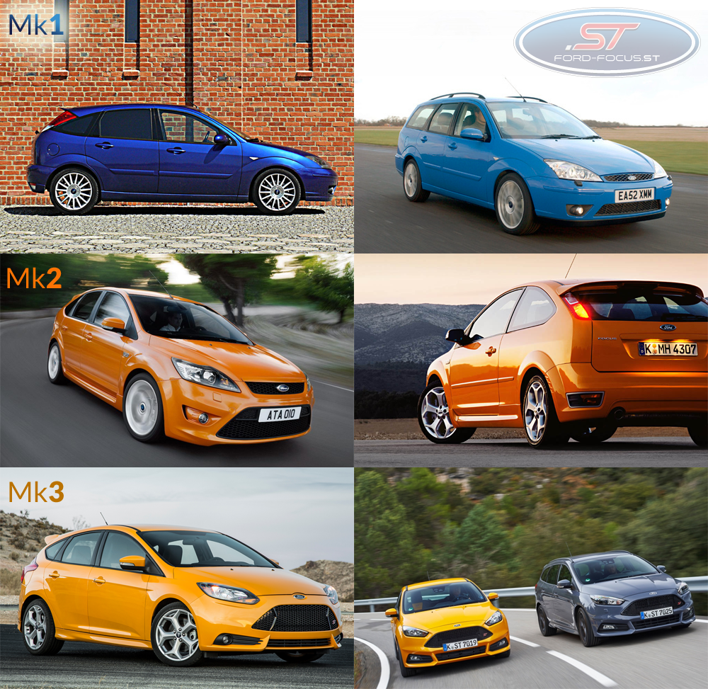 Three Generations Of The Ford Focus St And Which Model Would You Choose We Are Waiting For Your Comments