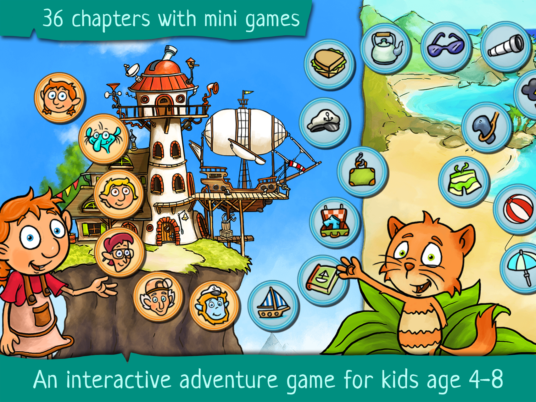 Kids Games and Story is a Primo App for Your Kids in 2020
