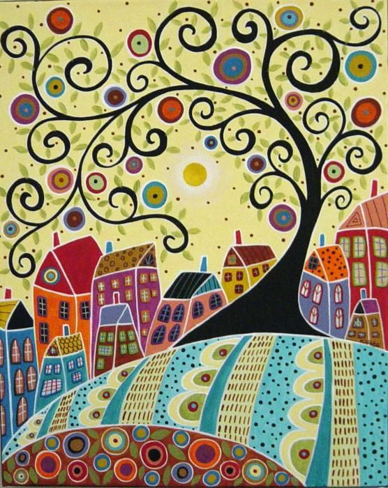 Google Image Result for http://images.fineartamerica.com/images-medium/houses-and-a-swirl-tree-karla-gerard.jpg