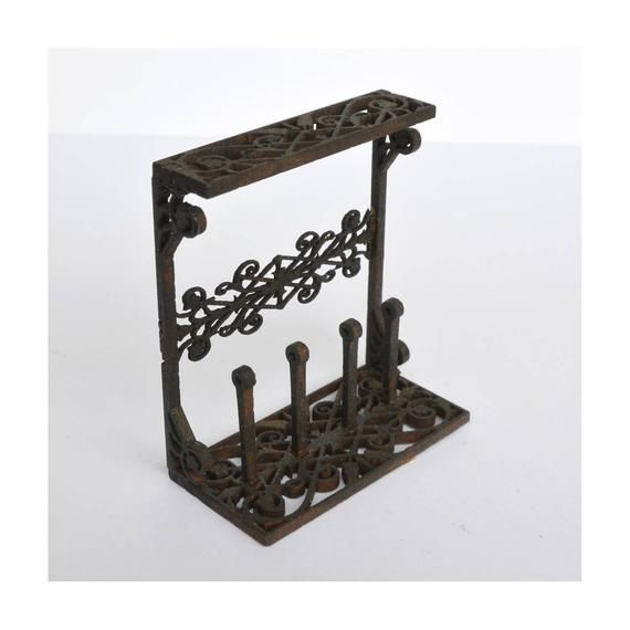 Boots rack 1:12 miniature dollhouse kit #victoriandollhouse