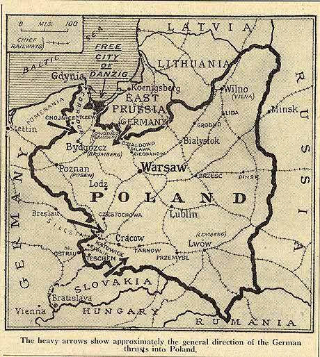 Photo map of poland before world war ii world war ii is a very photo map of poland before world war ii world war ii is a very gumiabroncs Choice Image
