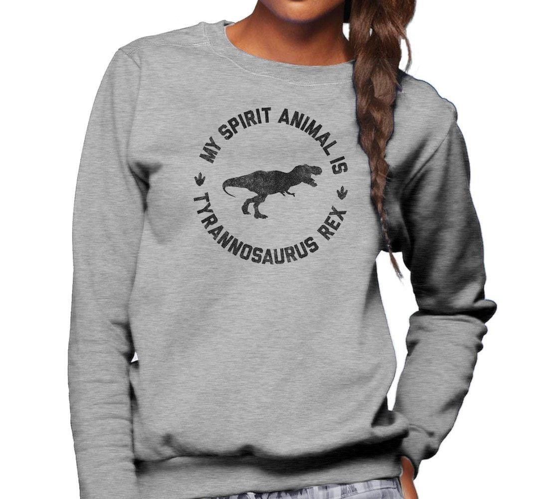 Unimy Spirit Animal Is T Rex Sweatshirt