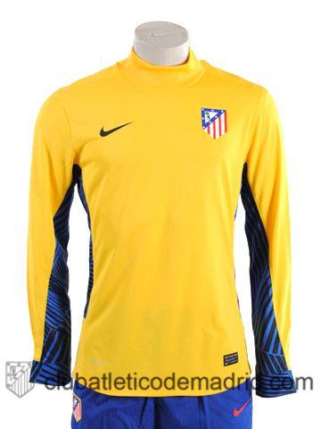 bd1928671b0 Atletico Madrid 2012-13 Goalkeeper Jersey