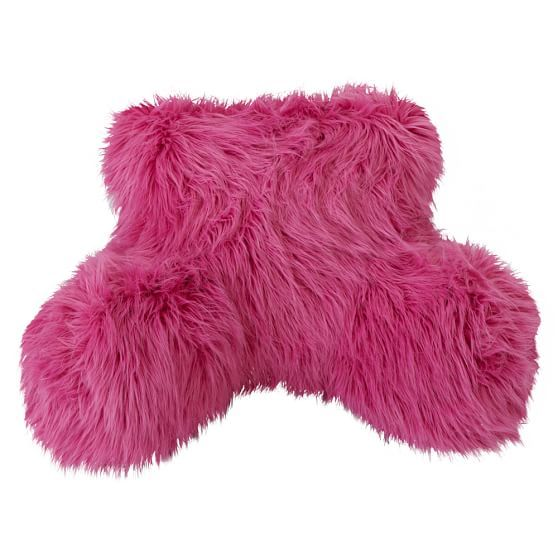Fur Rific Faux Fur Lounge Around Pillow Cover With Images