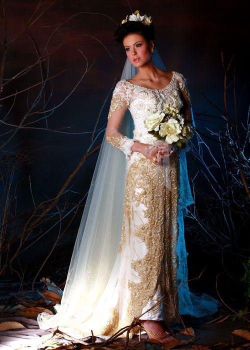 Indonesian Wedding Dresses