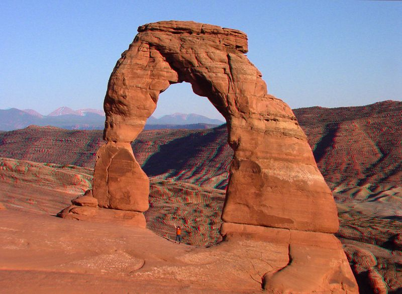 View Of A Natural Landscape Stone Arch