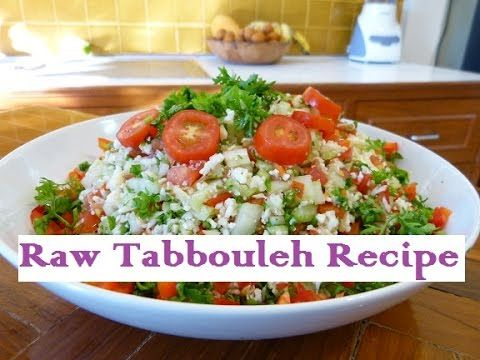 Mediterranean tabbouleh recipe raw food diet youtube raw mediterranean tabbouleh recipe raw food diet youtube forumfinder Gallery
