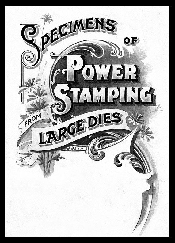 Specimens of Power Stamping