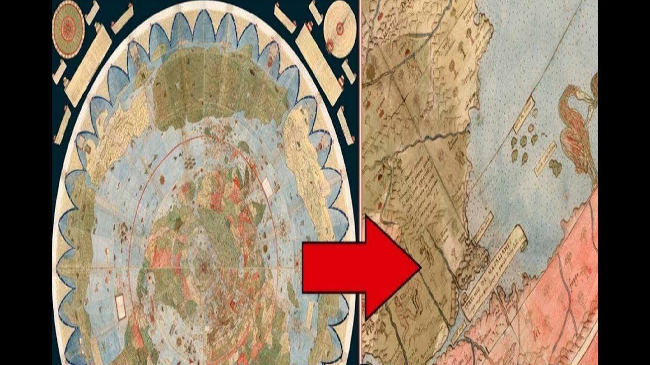 اكتشاف خريطة قديمة ت ظهر أماكن مخفية على الأرض Painting Art Education