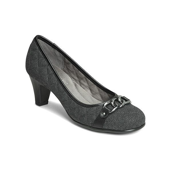 Aerosoles Card Player Classic Pumps 69  liked on Polyvore featuring  shoes pumps