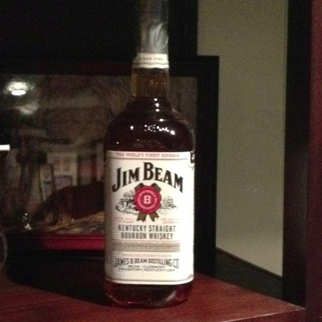 Staple Jim Beam Whiskey Bottle Bottle