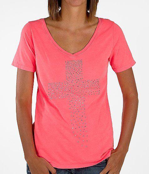 Daytrip Neon V-Neck T-Shirt