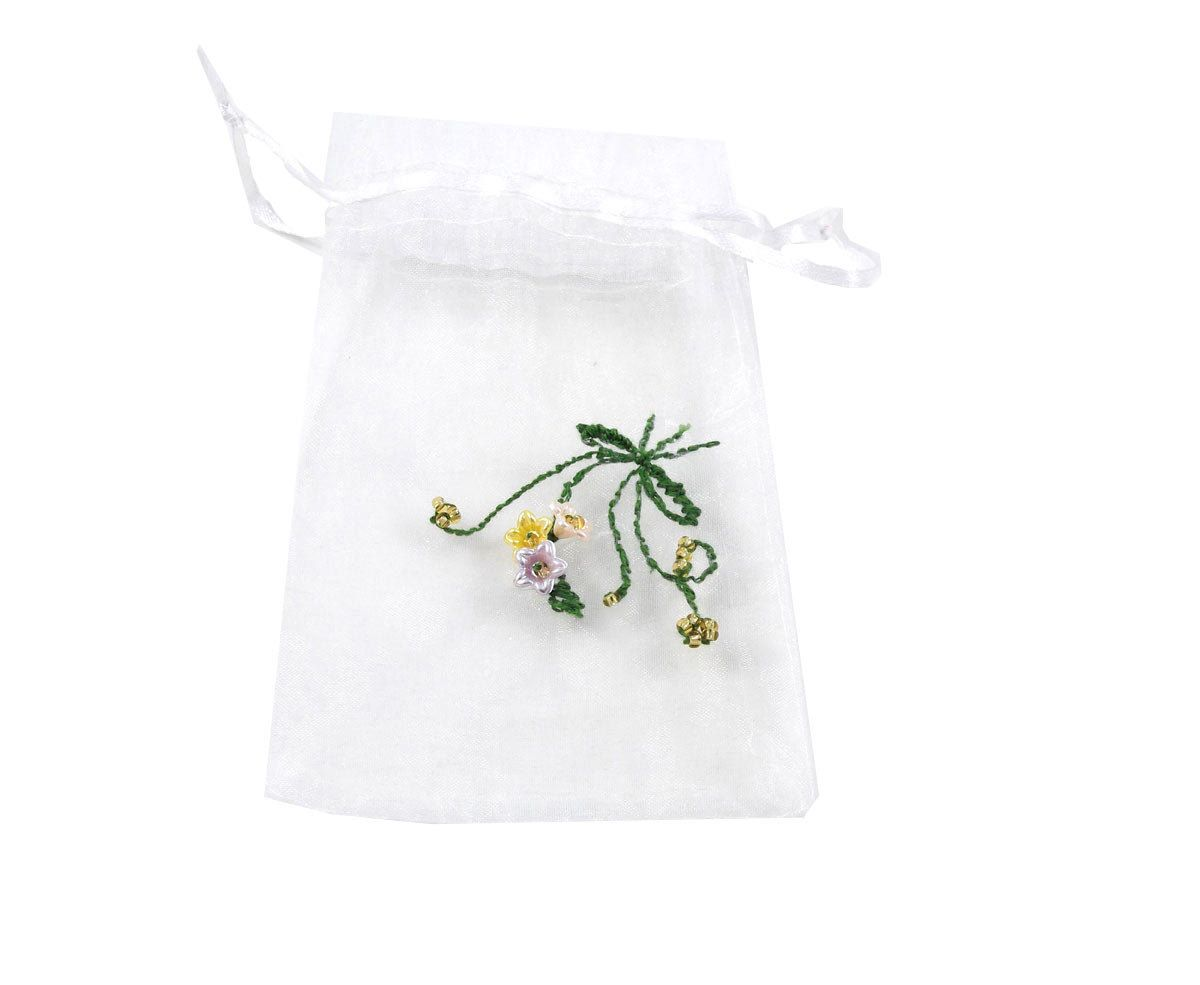 Wedding ring holder Pouch bag Ring bag Jewelry bag White gift