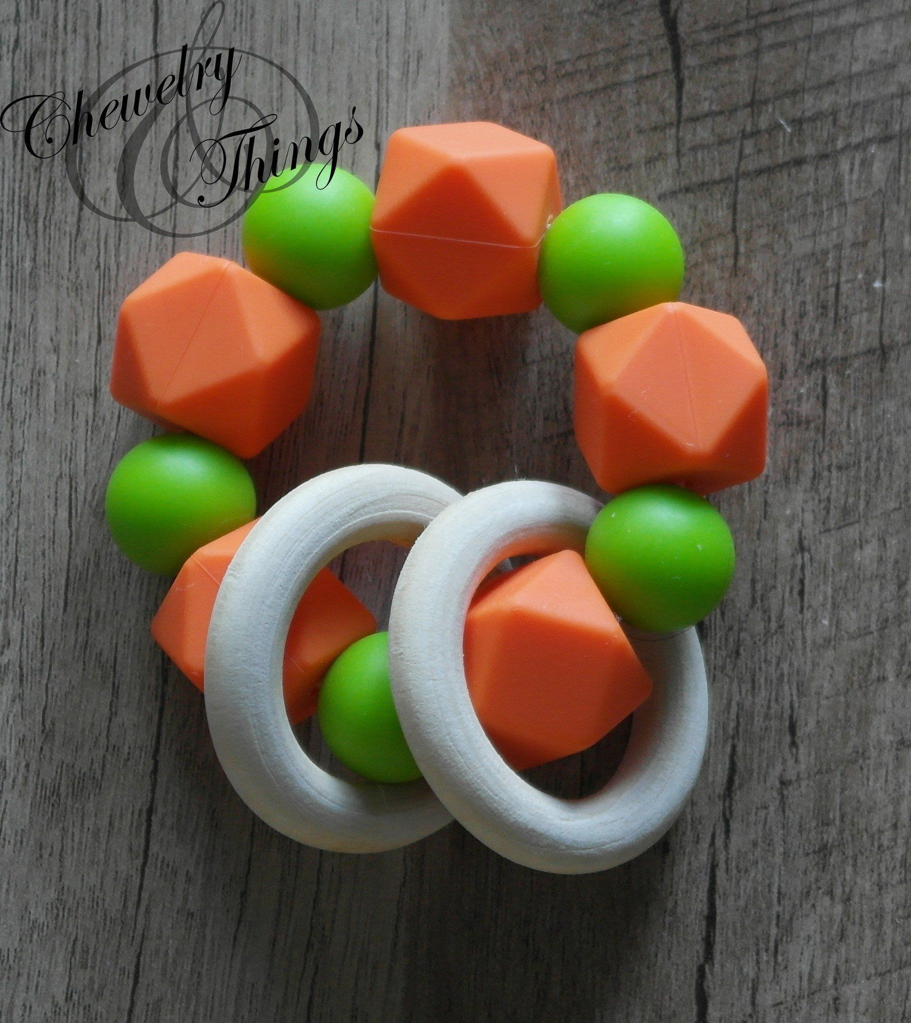 Game Day Teething Ring / Bracelet
