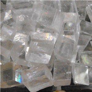Rough Calcite Optic Mini Cube