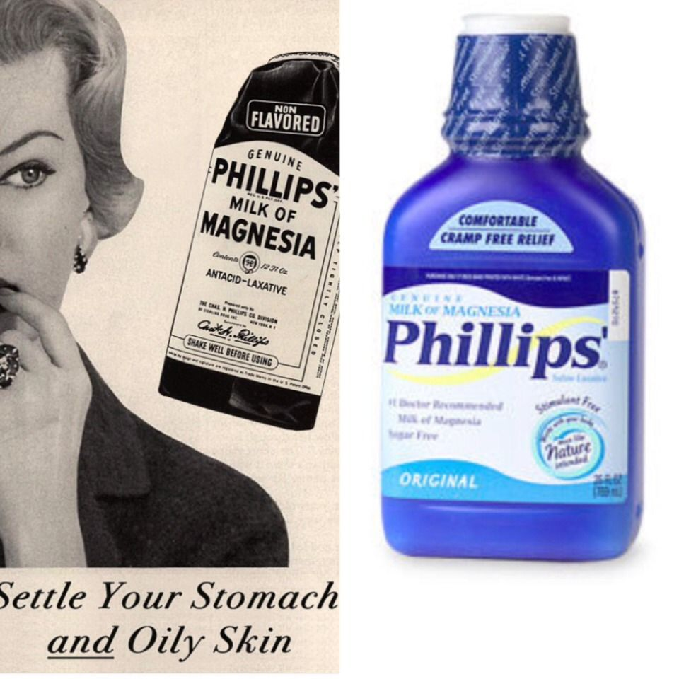 NO MORE OILY SKIN!!! Milk Of Magnesia Oily skin, Natural