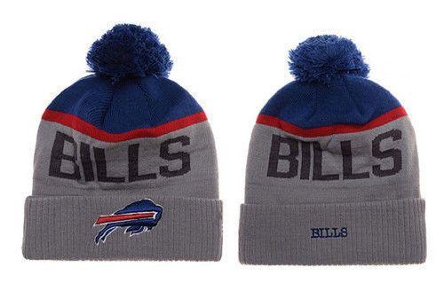 Buffalo Bills Winter Outdoor Sports Warm Knit Beanie Hat Pom Pom ... 802b7d75ec00