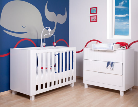 chambre bebe garcon bleue baleine b b pinterest b b. Black Bedroom Furniture Sets. Home Design Ideas