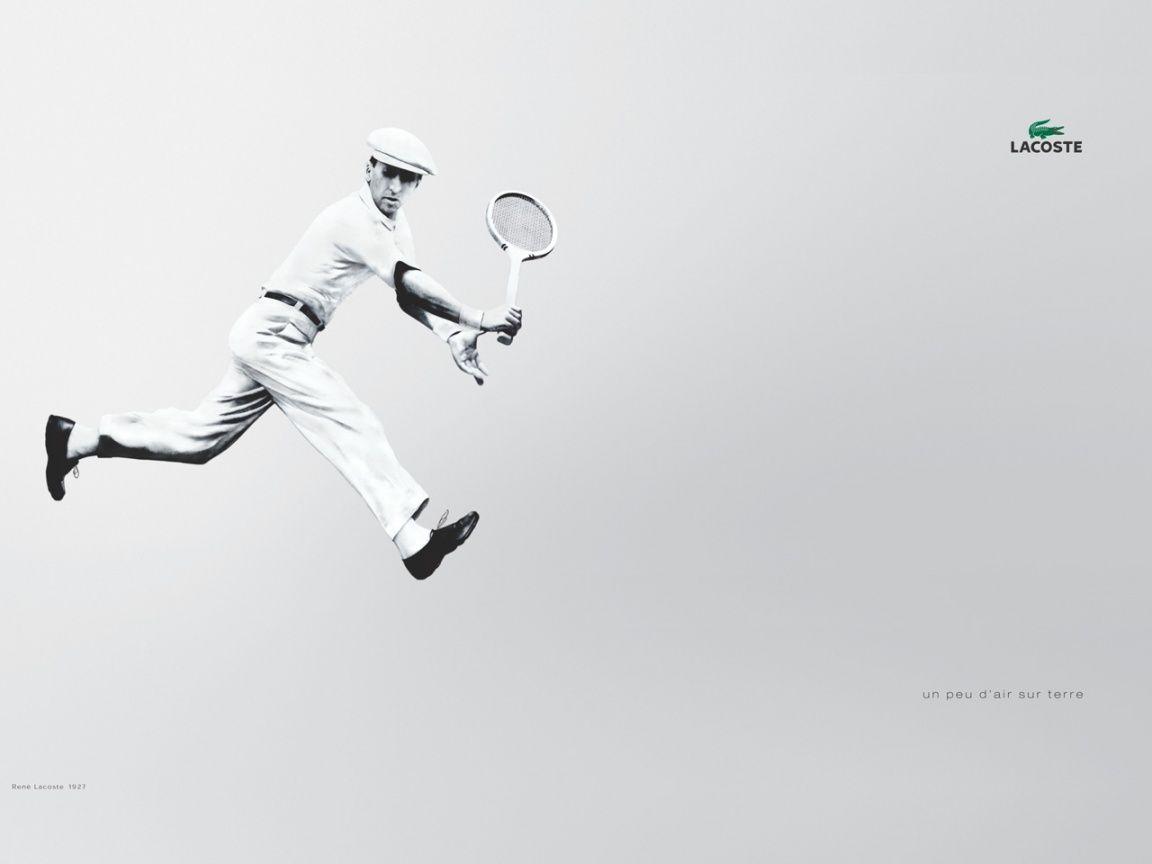 Lacoste Brand Vintage Tennis Wallpaper Black And White Class Jpg 1152 864 Play Tennis Tennis Tennis Workout