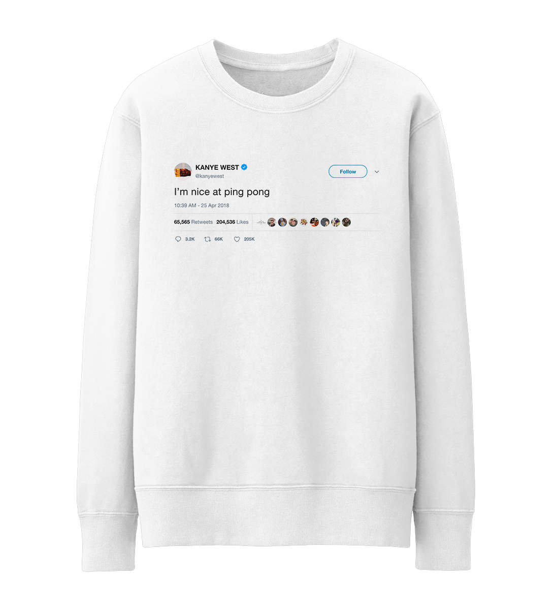 Kanye West Kanye West Kanye Graphic Sweatshirt