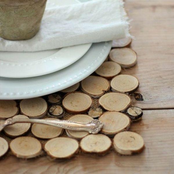 Deko Mit Holzscheiben Selber Machen Tolle Bastelideen Und Jede