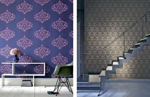 12 wallpaper trends of 2012 interior design - Patterns In Interior Design