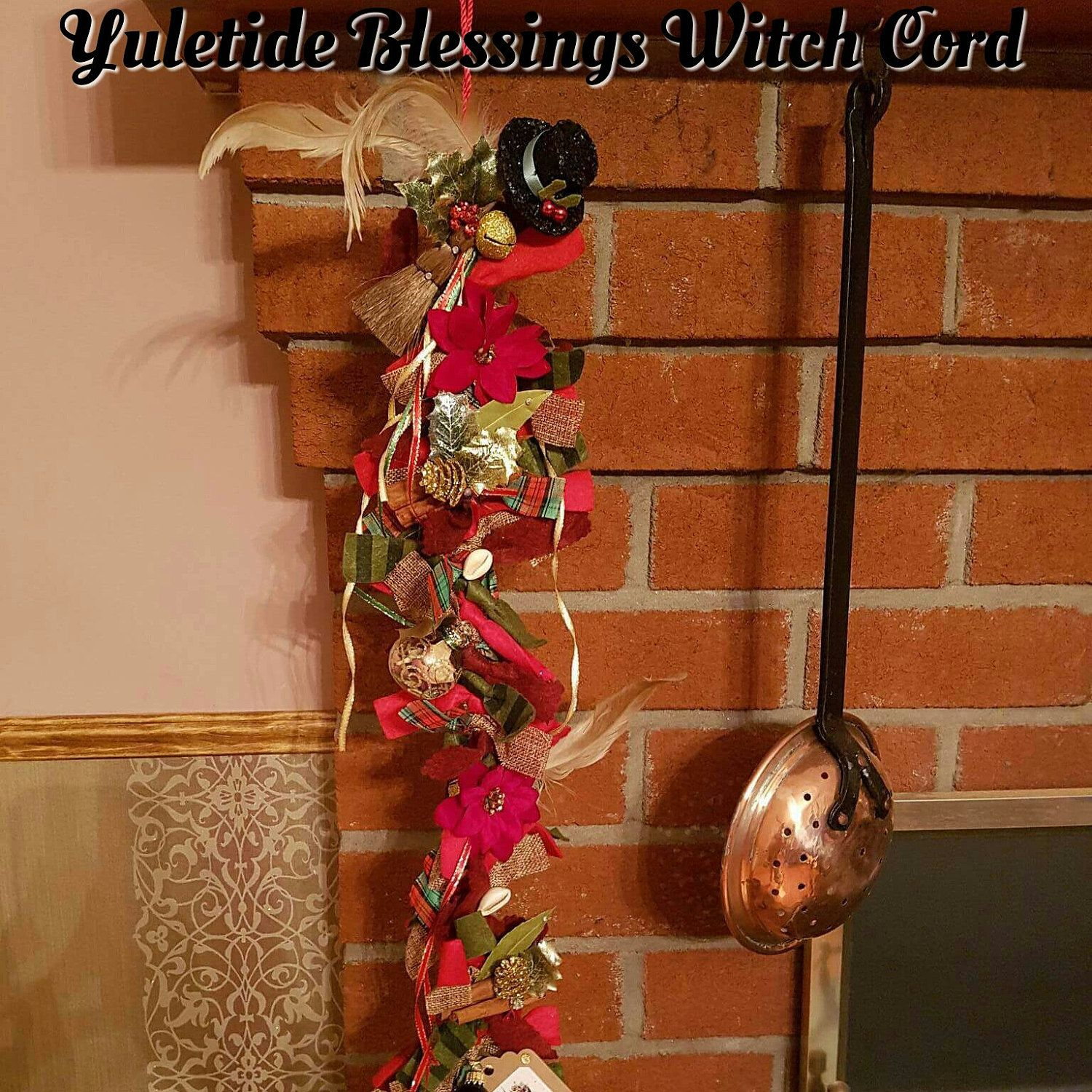 Custom Yule Witch Ladder recently finished  Get yours for