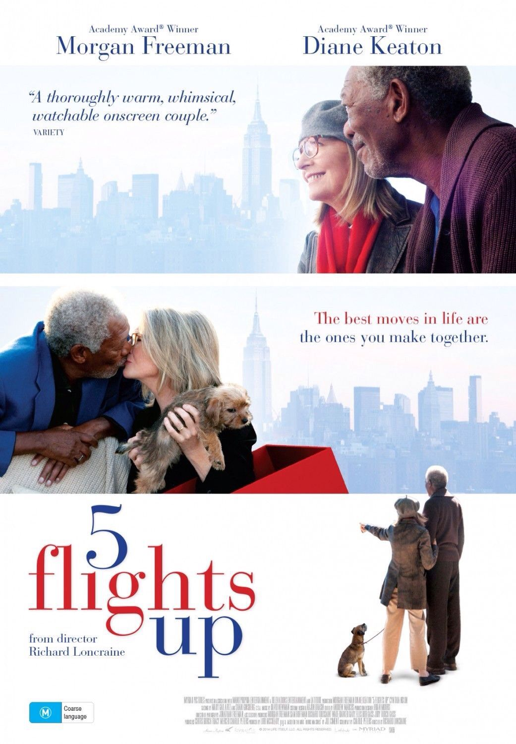 Poster From The Film 5 Flights Up