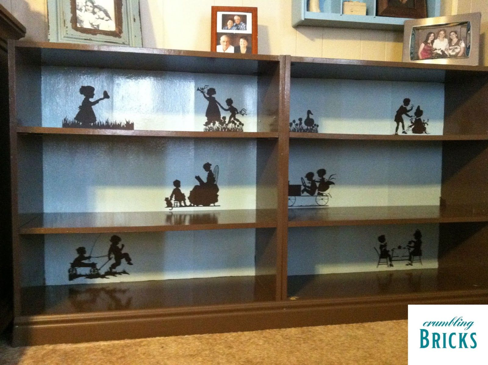 Walmart Bookshelf Makeover Projects Pinterest Bookshelf - Bookshelves walmart