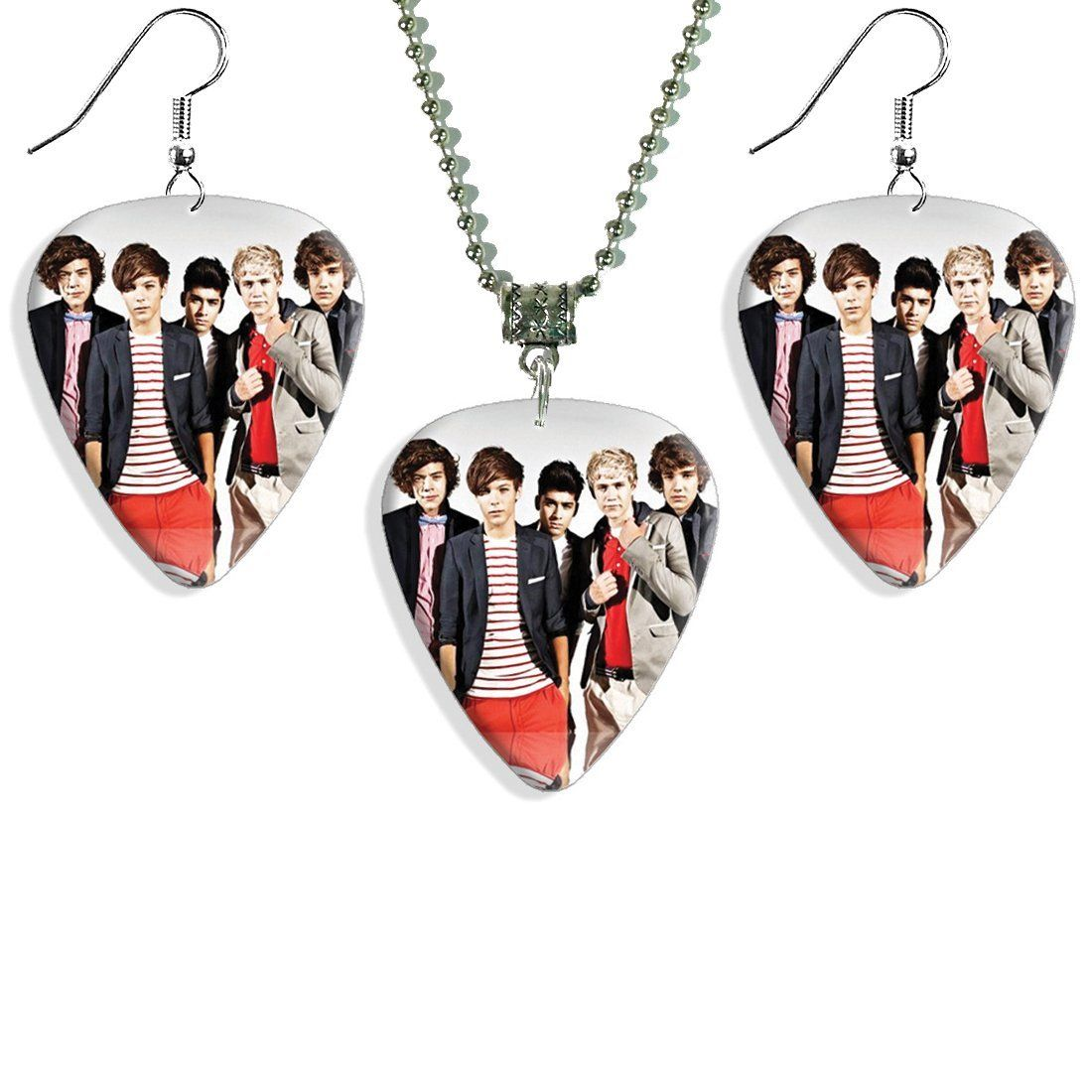 One Direction Earrings And Necklace Set Necklace Set Earring Set Earrings