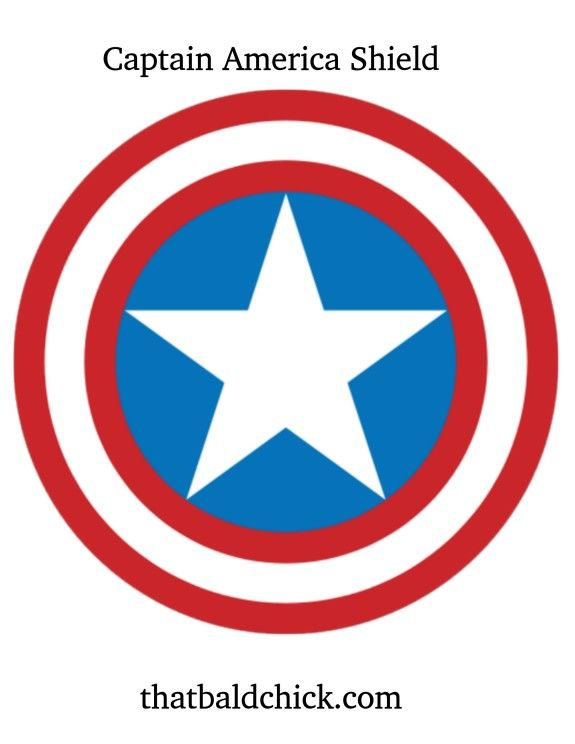 Diy Captain America Shield Captain America Shield Captain America Captain America Birthday