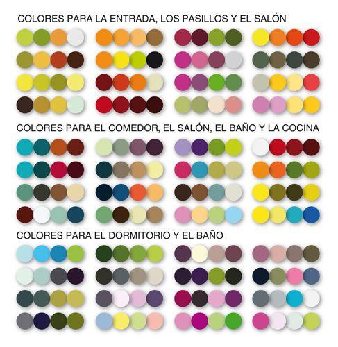 Resultado de imagen de combinar colores country for Tabla de colores pintura interior