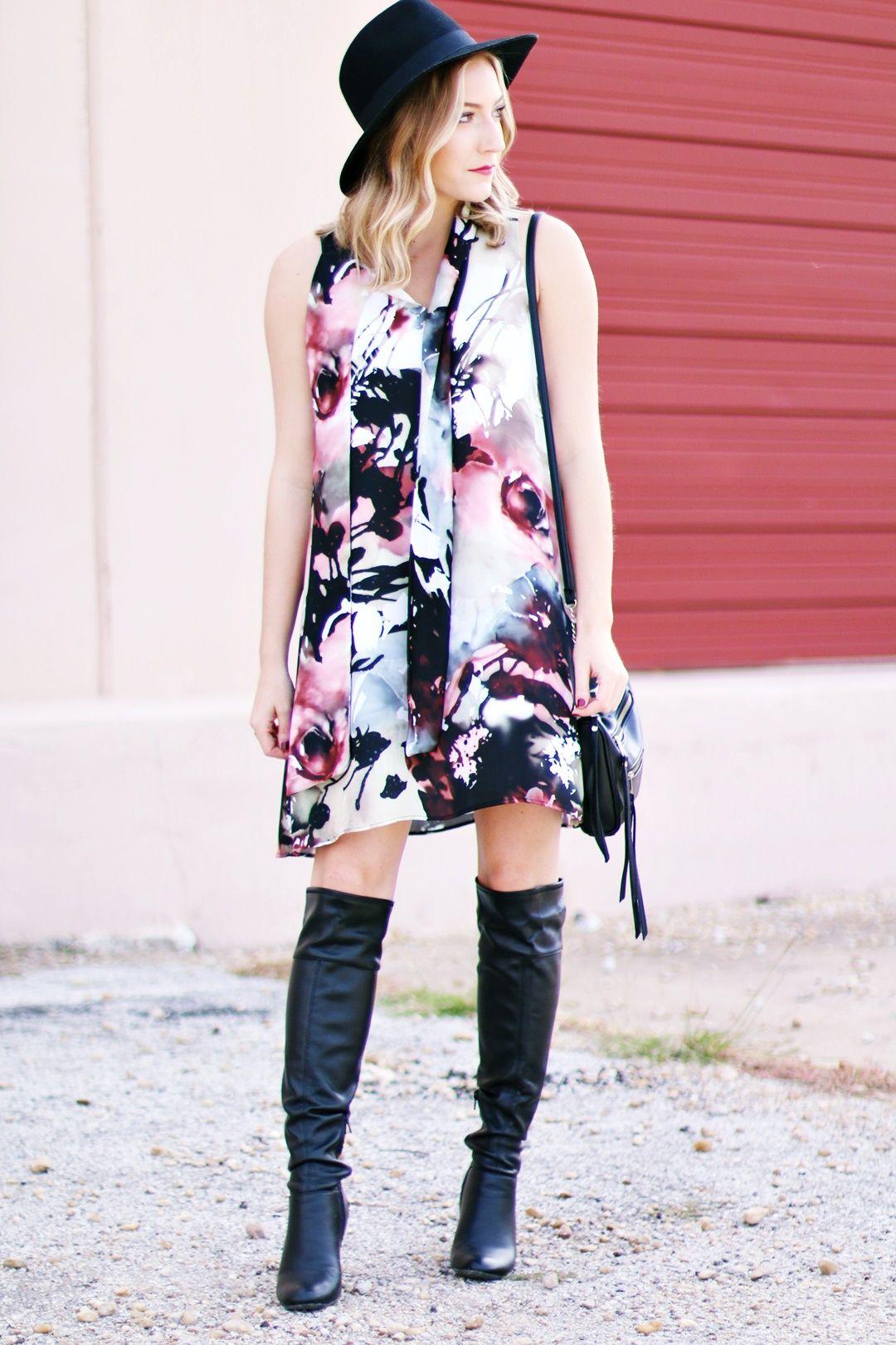 Askari Shayla Fall Bloom Dress - TheAshleyEdit