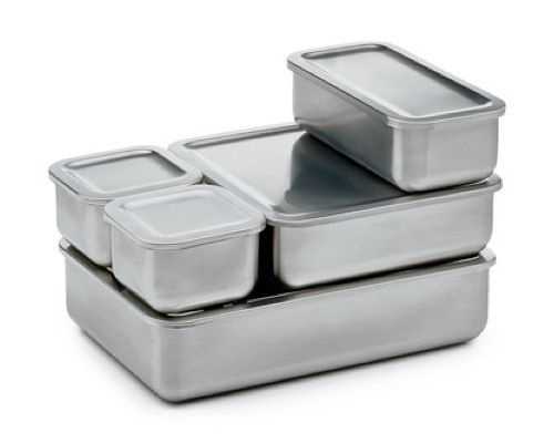 Stainless Steel Storage Containers food and drink Pinterest