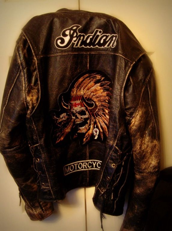 Indian Skull Art Indian Motocycle Motorcycle Outfit
