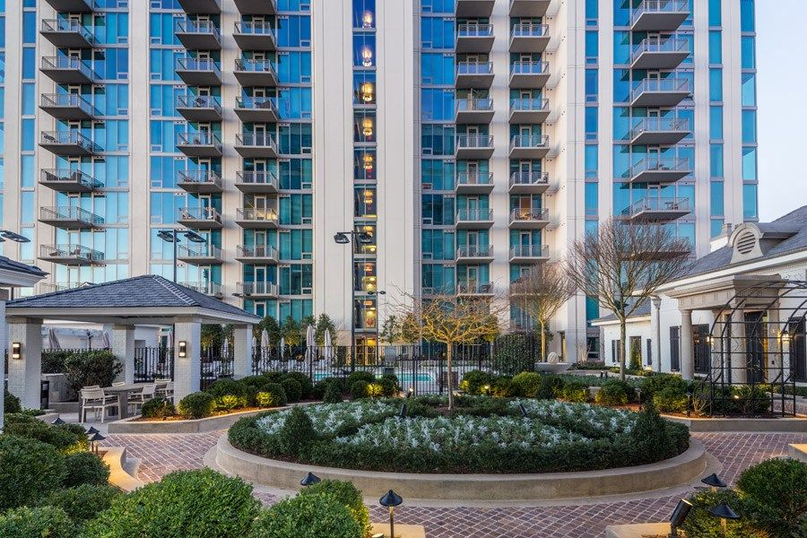 The Residence Buckhead Atlanta Apartments For Rent In Midtown   BBQ Area